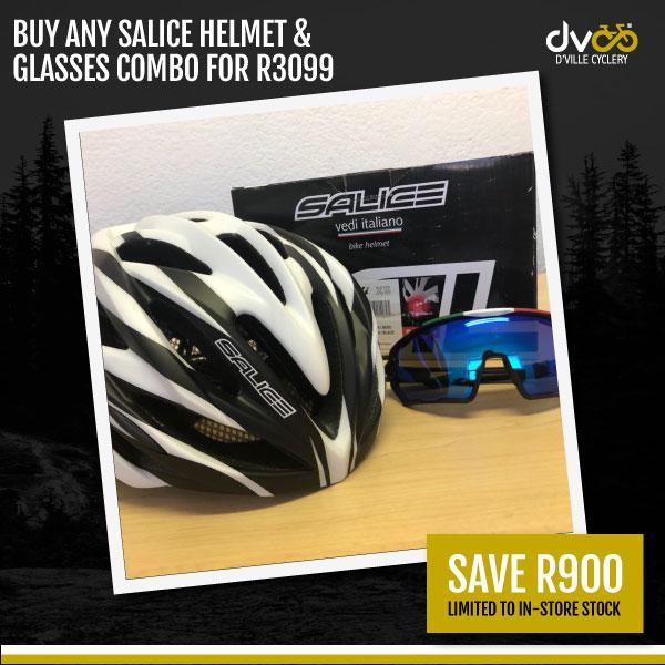 Salice Helmet And Glasses